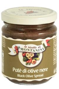 Montanini Pate olive nere