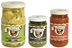 Montanini Conserve Alimentari sauces pesto appetizers