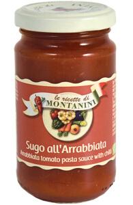Montanini arrabbiata pasta sauce