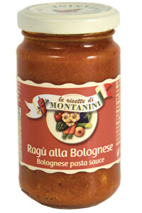 Montanini bolognese pasta sauce