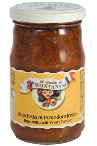 Montanini bruschetta with fresh tomato