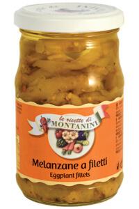 Montanini eggplant fillets in oil