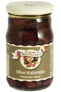 Montanini kalamata olives in oil