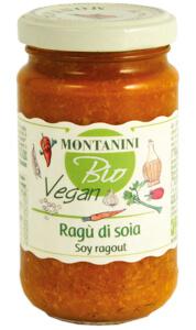 Montanini organic soy pasta sauce