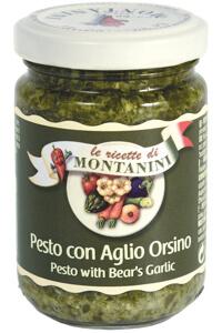 Montanini pesto bear garlic
