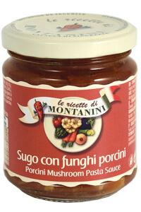 Montanini porcini mushroom pasta sauce