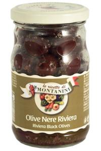 Montanini riviera black olives