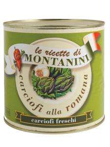 Montanini romana artichokes with stem